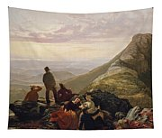The Belated Party On Mansfield Mountain Tapestry