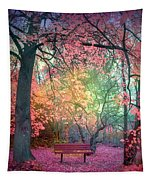 The Bench That Dreams Tapestry