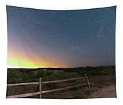 The Big Dipper Over The Lights Of Provincetown Ma Tapestry
