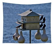 The Bird Hotel Tapestry
