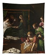 The Birth Of The Virgin Tapestry