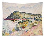 The Black Cape Pramousquier Bay Tapestry