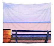The Blue Bench Tapestry