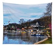 The Boat House Row Tapestry