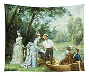 The Boating Party Tapestry