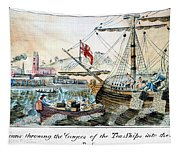 The Boston Tea Party, 1773 Tapestry