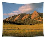 The Boulder Flatirons Tapestry