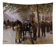 The Boulevards Tapestry