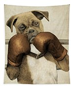 The Boxer Tapestry by Eric Fan