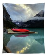 The Breathtakingly Beautiful Lake Louise II Tapestry