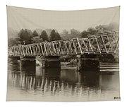 The Bridge At Washingtons Crossing Tapestry