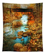 The Bridge By Government Street Tapestry