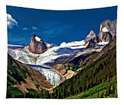 The Bugaboos Tapestry