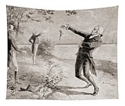 The Burr Hamilton Duel Tapestry