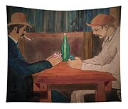The Card Players Tapestry