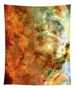 The Carina Nebula Panel Number One Out Of A Huge Three Panel Set Tapestry