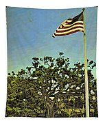 The Casements Flag Flying Tapestry