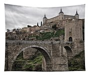 The Castle And The Bridge Tapestry
