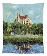 The Cathedral At Auxerre Tapestry