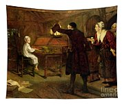The Child Handel Discovered By His Parents Tapestry