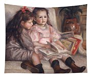 The Children Of Martial Caillebotte Tapestry