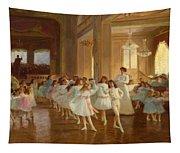 The Children's Dance Recital At The Casino De Dieppe Tapestry