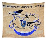 The China Clipper Tapestry