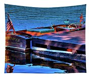 The Vintage 1958 Chris Craft Tapestry