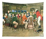 The Christmas Dinner At The Inn Tapestry