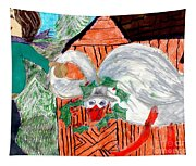 The Christmas Goose Tapestry