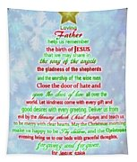 The Christmas Prayer Tapestry