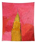 The Chrysler With Red Tapestry
