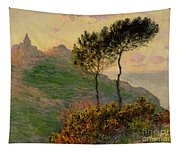 The Church At Varengeville Against The Sunlight Tapestry