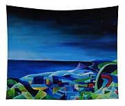 The City At The Sea Tapestry