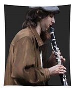 The Clarinet Player Tapestry