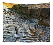 The Cliffs Of Sauble Tapestry
