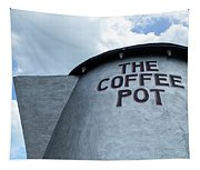 The Coffee Pot Up Close Tapestry