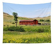 The Color Of Montana Tapestry