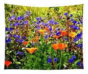 The Colors Of Spring  Tapestry