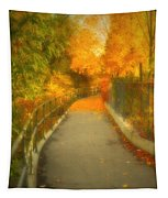 The Colour Around The Corner Tapestry