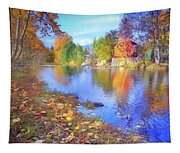 The Colours Of October Tapestry