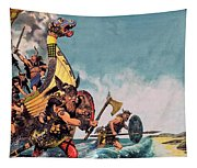 The Coming Of The Vikings Tapestry