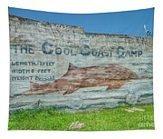 The Cool Coast Camp Tapestry