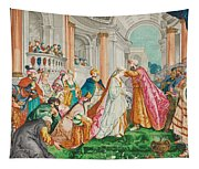 The Coronation Of Esther Tapestry