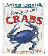 The Crab Shack Tapestry