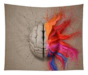 The Creative Brain Tapestry