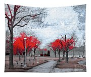 The Crimson Trees Tapestry