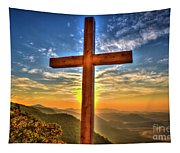 The Cross The Choice Pretty Place Chapel Greenville South Carolina Art Tapestry