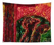 The Cross, The World And Fire - Bgcwf Tapestry