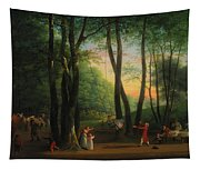 The Dancing Glade At Sorgenfri Tapestry
